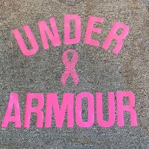 Grey Under Armour t shirt size medium